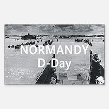 Normandy Americasbesthistory.c Sticker (Rectangle)