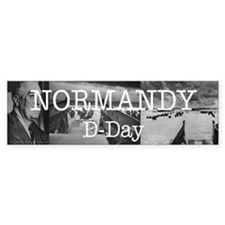 Normandy Americasbesthistory.com Bumper Sticker
