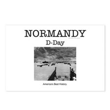 Normandy Americasbesthist Postcards (Package of 8)
