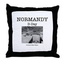 Normandy Americasbesthistory.com Throw Pillow