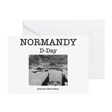Normandy Americasbesthistory.com Greeting Card