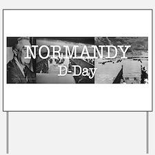 Normandy Americasbesthistory.com Yard Sign