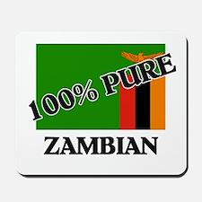 100 Percent ZAMBIAN Mousepad