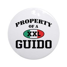 Property of a Guido Ornament (Round)