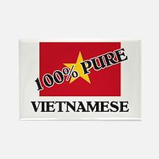 100 Percent VIETNAMESE Rectangle Magnet