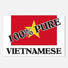 100 Percent VIETNAMESE Postcards (Package of 8)