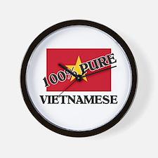 100 Percent VIETNAMESE Wall Clock