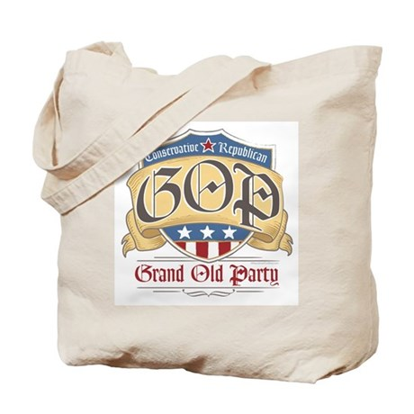 GOP Grand Old Party Tote Bag