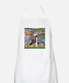 Lilies/Chinese Crested BBQ Apron