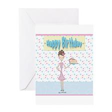 Cute Skate birthday Greeting Card