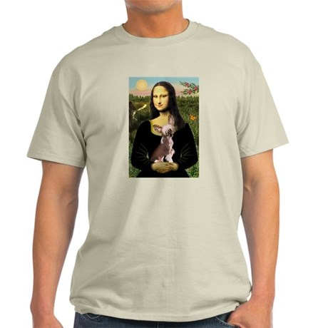 Mona Lisa Chinese Crested Light T-Shirt