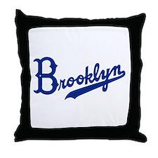 Cute Brooklyn dodger Throw Pillow