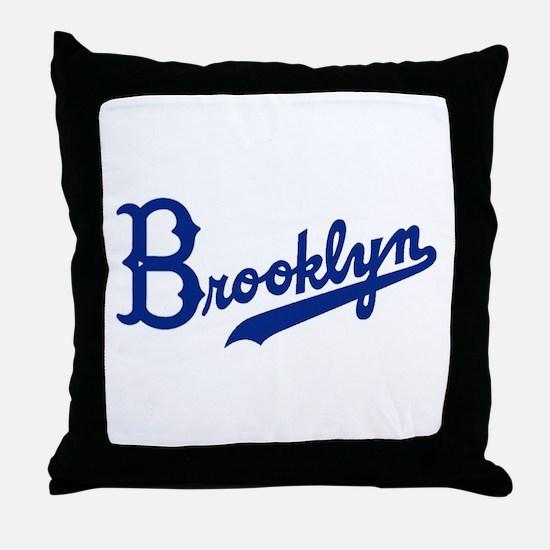 Cute Brooklyn Throw Pillow