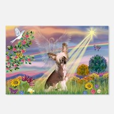Cloud Angel/Chinese Crested Postcards (Package of