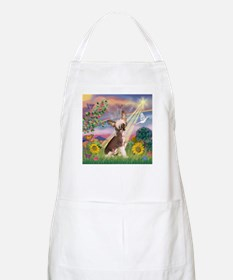 Cloud Angel/Chinese Crested BBQ Apron