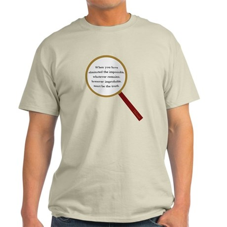 Holmes Quote Light T-Shirt