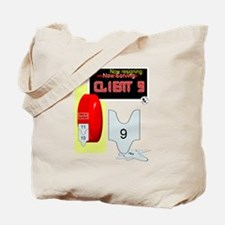 Client 9 Resigns Tote Bag