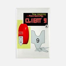 Client 9 Resigns Rectangle Magnet (10 pack)