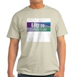 'Keep On Defying The Odds' Grey T-Shirt