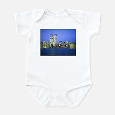New York City at Night Infant Bodysuit