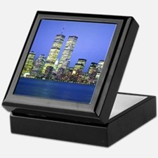 New York City at Night Keepsake Box