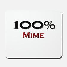 100 Percent Mime Mousepad