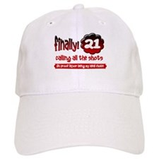 Finally 21 calling all the shots Baseball Cap