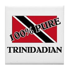 100 Percent TRINIDADIAN Tile Coaster