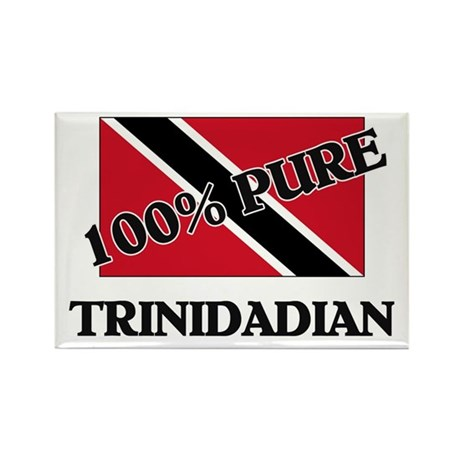 100 Percent TRINIDADIAN Rectangle Magnet (10 pack)