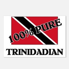 100 Percent TRINIDADIAN Postcards (Package of 8)