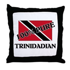 100 Percent TRINIDADIAN Throw Pillow