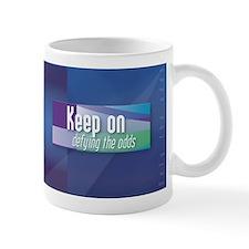 'Keep On Defying The Odds' Mug
