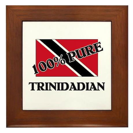 100 Percent TRINIDADIAN Framed Tile