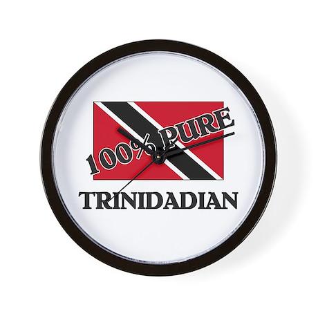 100 Percent TRINIDADIAN Wall Clock