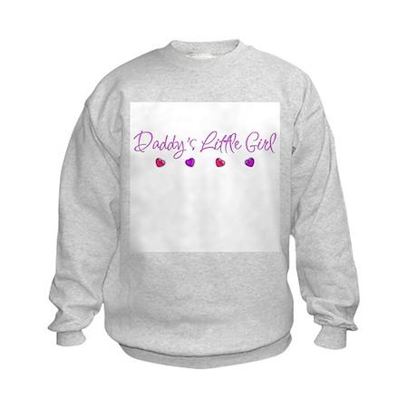Daddy's Little Girl Kids Sweatshirt