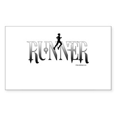 RUNNER Rectangle Decal