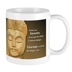 'Winking Buddha' Mug