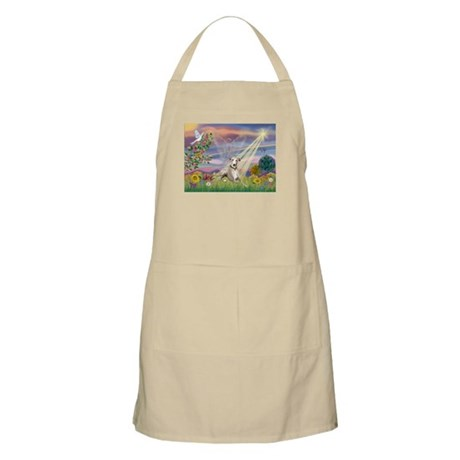 Cloud Angel & Whippet BBQ Apron