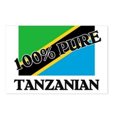 100 Percent TANZANIAN Postcards (Package of 8)