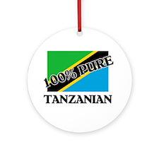 100 Percent TANZANIAN Ornament (Round)