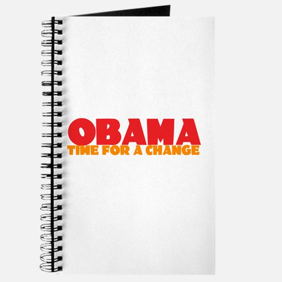 Obama Change Journal