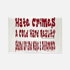 Hate Crimes Rectangle Magnet