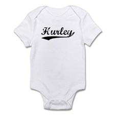 Vintage Hurley (Black) Infant Bodysuit