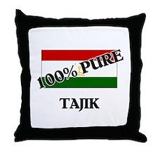 100 Percent TAJIK Throw Pillow