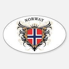 Norway Sticker (Oval)