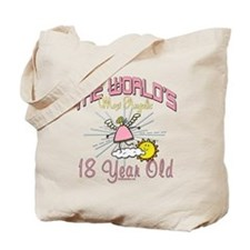 Angelic At 18 Tote Bag
