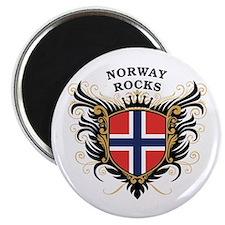 Norway Rocks Magnet