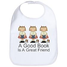 Books Are Friends Bib