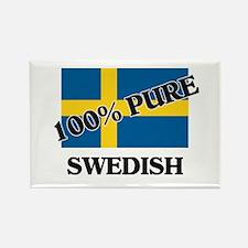 100 Percent SWEDISH Rectangle Magnet