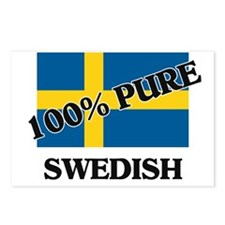 100 Percent SWEDISH Postcards (Package of 8)